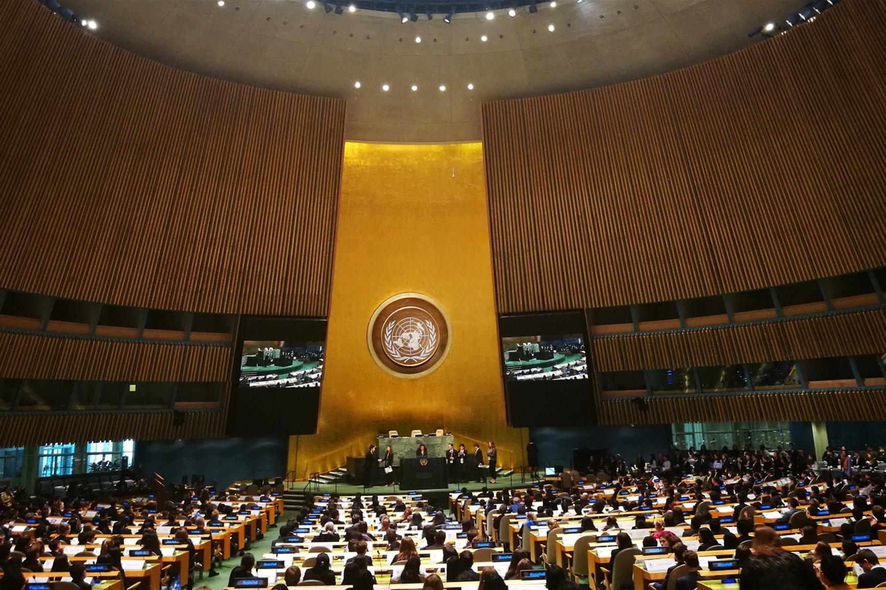 我校学子模联峰会载誉归来,联合国总部展亮河南声音